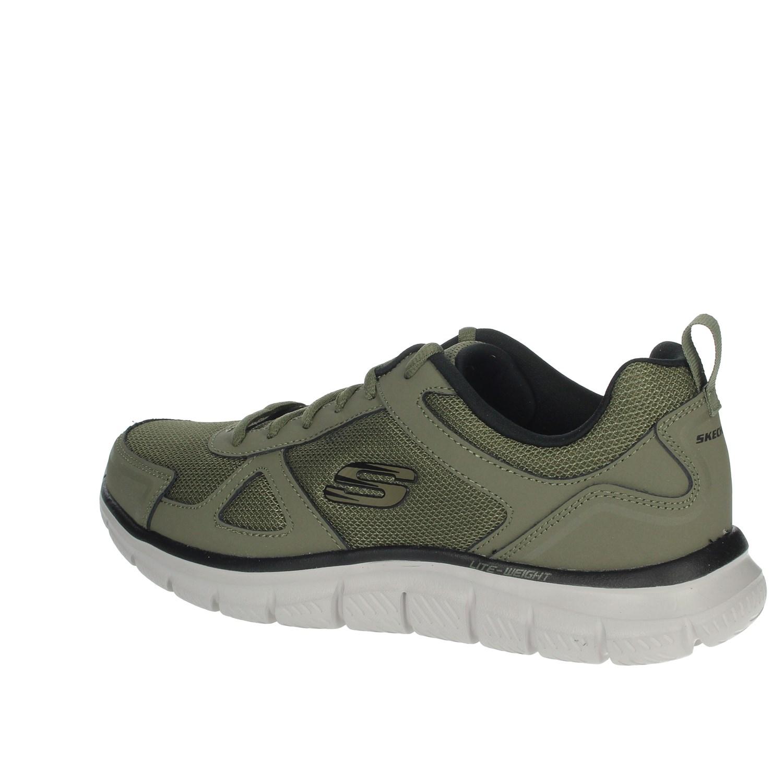 Dettagli su Skechers Uomo 52631/OLBK VERDONE Sneakers Primavera/Estate Pelle/nylon