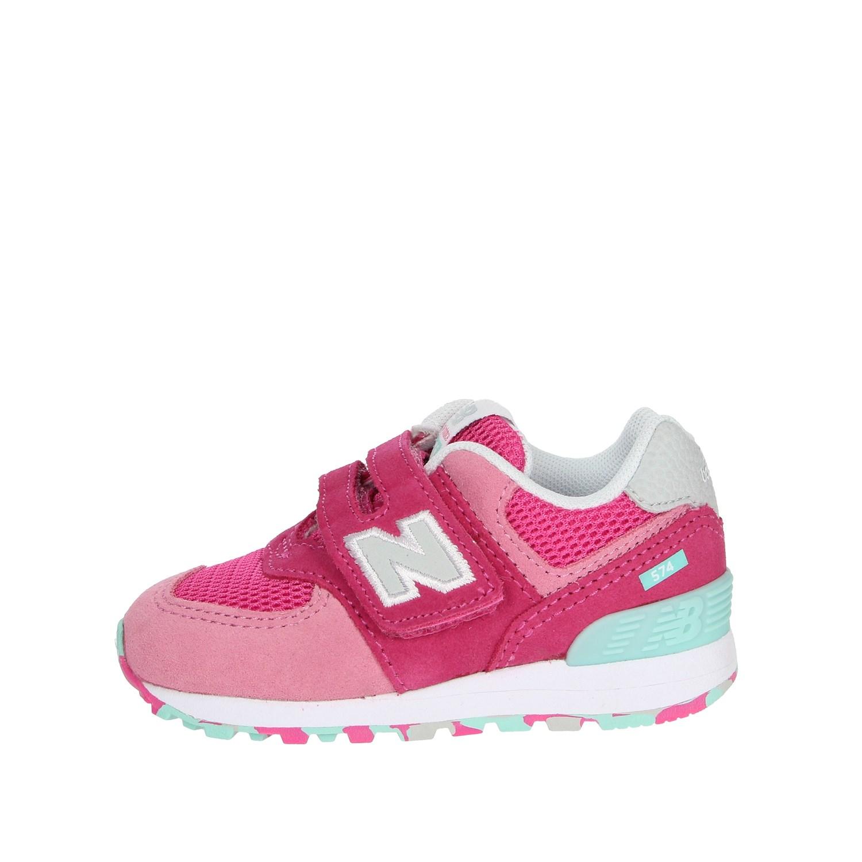 Dettagli su New Balance Bambina IV574UJB FUXIA Sneakers PrimaveraEstate Camosciotessuto
