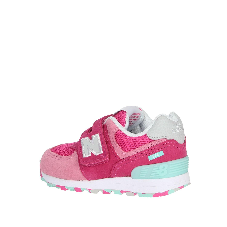 Details zu New Balance Mädchen IV574UJB Fuchsia Sneakers FrühjahrSommer Wildleder Textil
