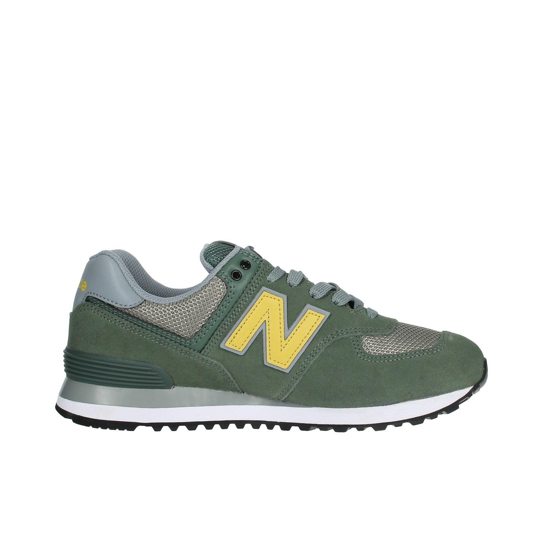 Dettagli su New Balance Uomo ML574FNE VERDE Sneakers AutunnoInverno Camoscionylon