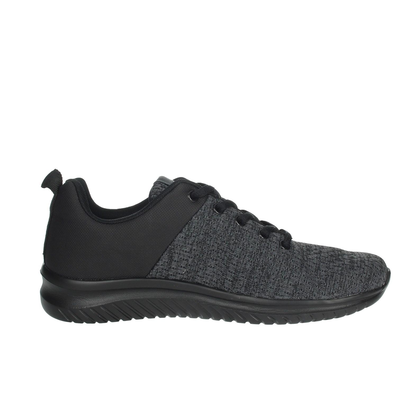 Umbro-Uomo-RFR38068S-NERO-GRIGIO-Sneakers-Autunno-Inverno-Nylon miniatura 5