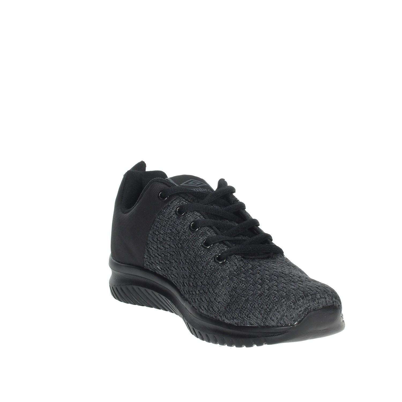 Umbro-Uomo-RFR38068S-NERO-GRIGIO-Sneakers-Autunno-Inverno-Nylon miniatura 6