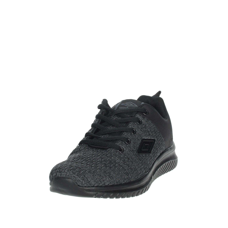 Umbro-Uomo-RFR38068S-NERO-GRIGIO-Sneakers-Autunno-Inverno-Nylon miniatura 7