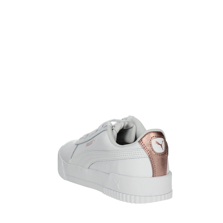 Dettagli su Puma Donna 373081 BIANCO Sneakers PrimaveraEstate Pelle Sintetico