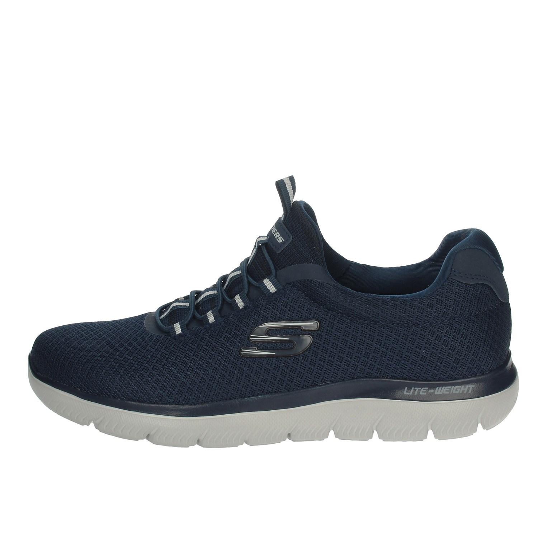 Dettagli su Skechers Uomo 52811 BLU Sneakers PrimaveraEstate Nylon