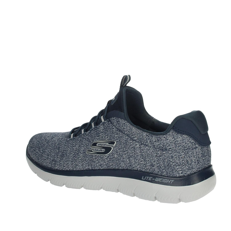 Dettagli su Skechers Uomo 52813 BLU Sneakers PrimaveraEstate Nylon