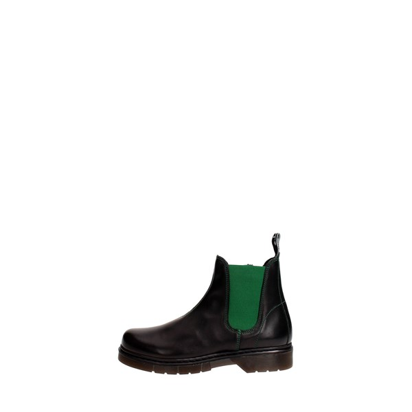 Cult Shoes Boots Black/Green CLJ101510