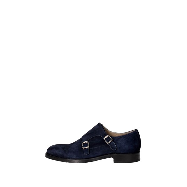Corvari Shoes Brogue Blue 3006