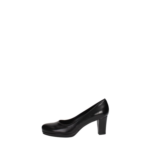 Rosso Reale Milano Shoes Pumps Black 315