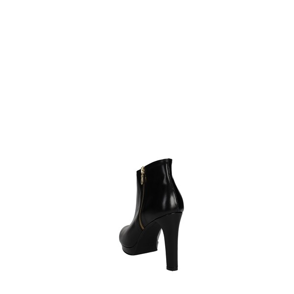 <Rosso Reale Milano Shoes boots Black 453