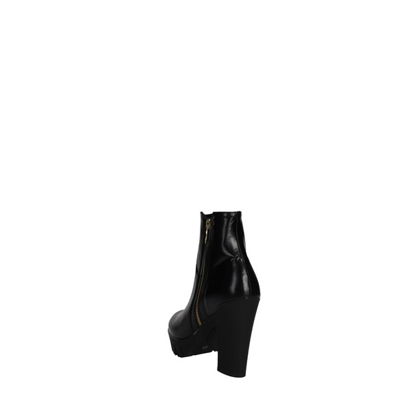 <Rosso Reale Milano Shoes boots Black 456