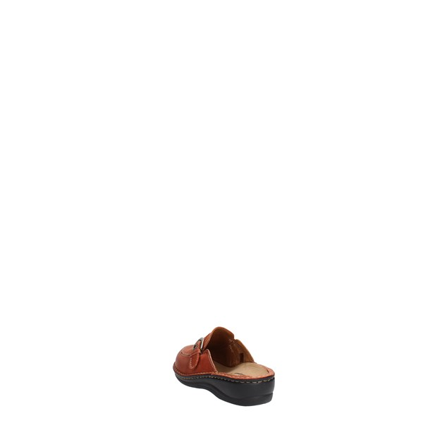 Sanagens Shoes Clogs Brown leather 2064 S 005