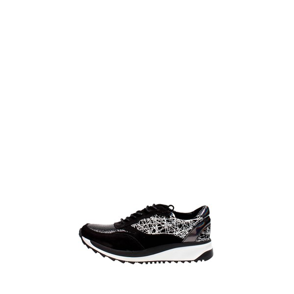 Bronx Shoes Low Sneakers Black 65373E-E