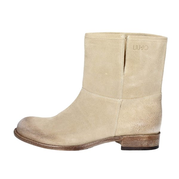 Liu-jo Shoes Ankle Boots Beige S14059 TEA