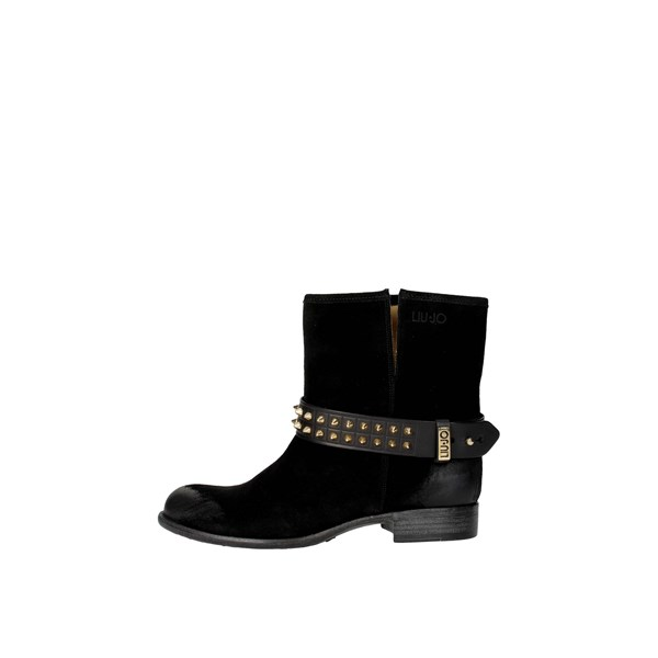 Liu-jo Shoes Ankle Boots Black S14059 TEA