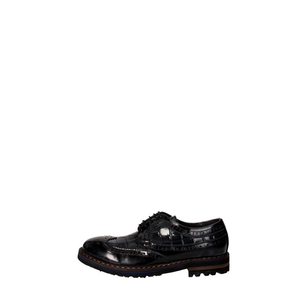 Eveet Shoes Brogue Black/Grey 14708