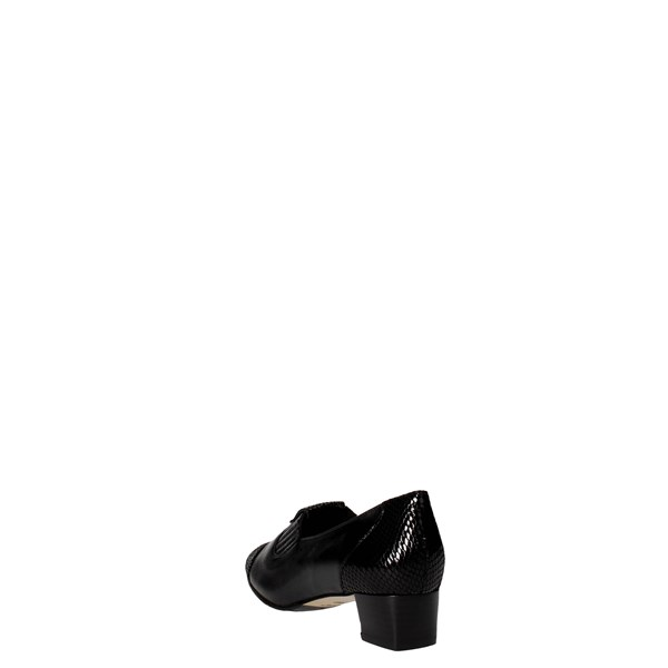 Sanagens Shoes Loafers Black 4662 006