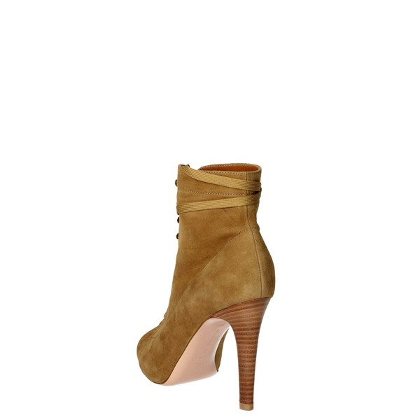 <Gianvito Rossi Shoes Ankle Boots With Heels Brown Taupe GG5714.86