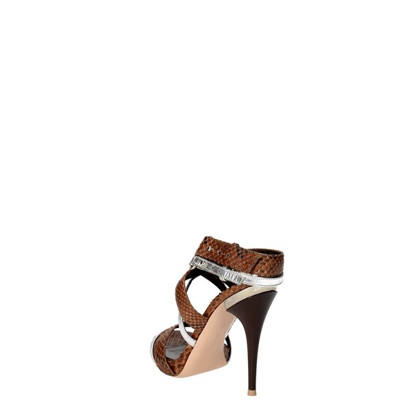 <Gianvito Rossi Shoes Sandal Brown GE3170..00
