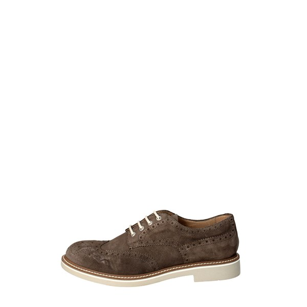 Docksteps Shoes Brogue Brown Taupe DSE102118