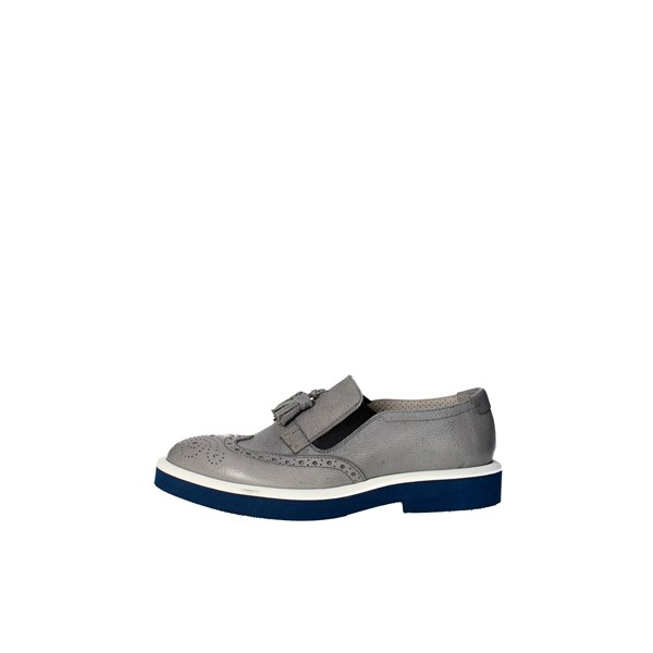 Marechiaro Shoes Moccasin Grey 4258