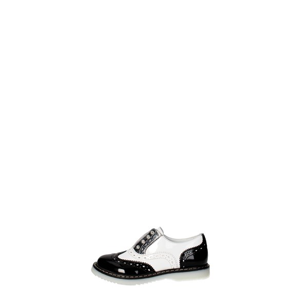 Cult Shoes Brogue Black/White CLJ101541