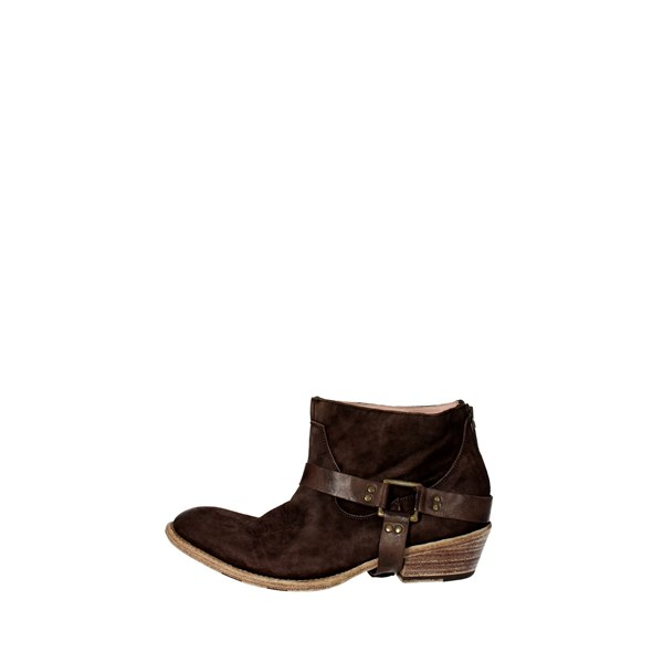 Corvari Shoes Ankle Boots Brown C.08
