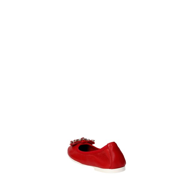 Blumarine  Shoes Ballet Flats Red D1053