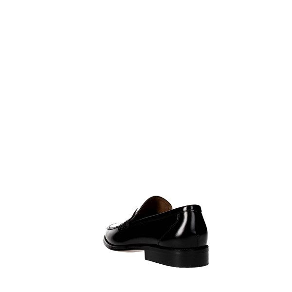 Baerchi Shoes Moccasin Black 4101