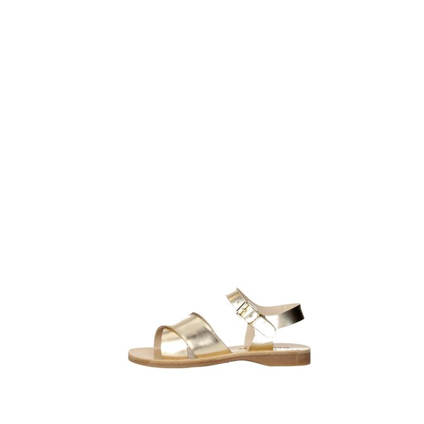 Florens Shoes Sandals Gold Z7882