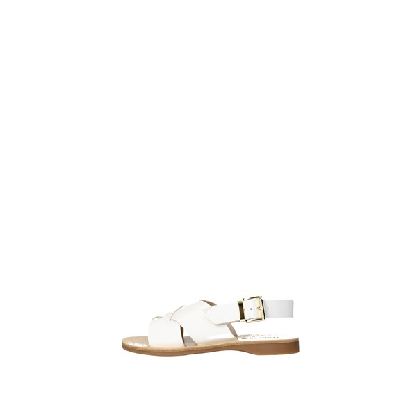 Florens Shoes Sandals White Z7888