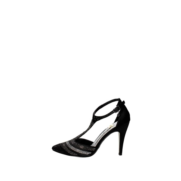 O6 Shoes Sling Back Pumps Black PT0030