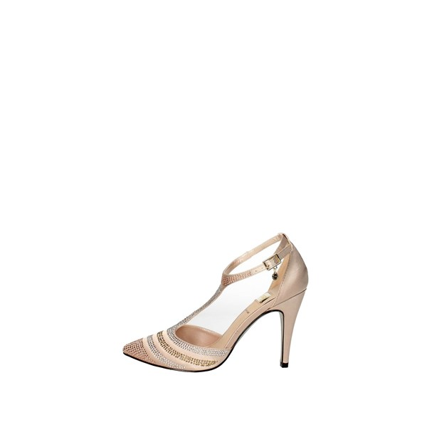 O6 Shoes Sling Back Pumps Light dusty pink PT0030