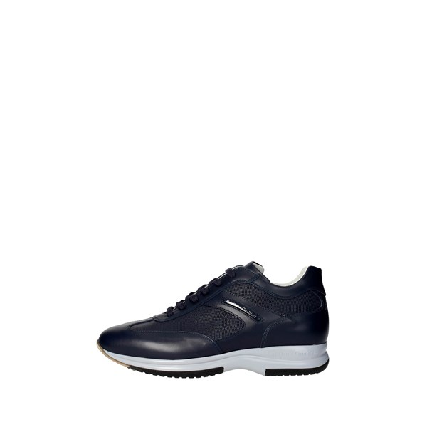 Cristiano Gualtieri Shoes Low Sneakers Blue 458/ST