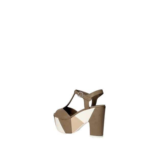 Luciano Barachini Shoes Sandal Grey 6021B