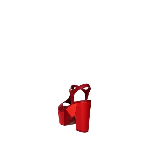 Luciano Barachini Shoes Sandals Red 6021C
