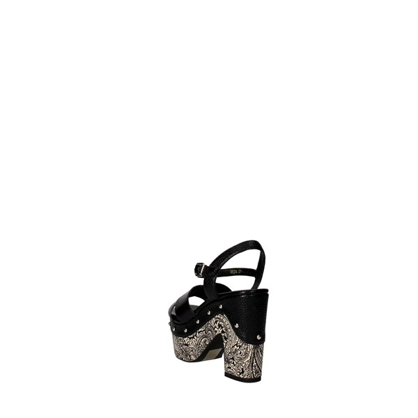 Luciano Barachini Shoes Sandal Black 6023A
