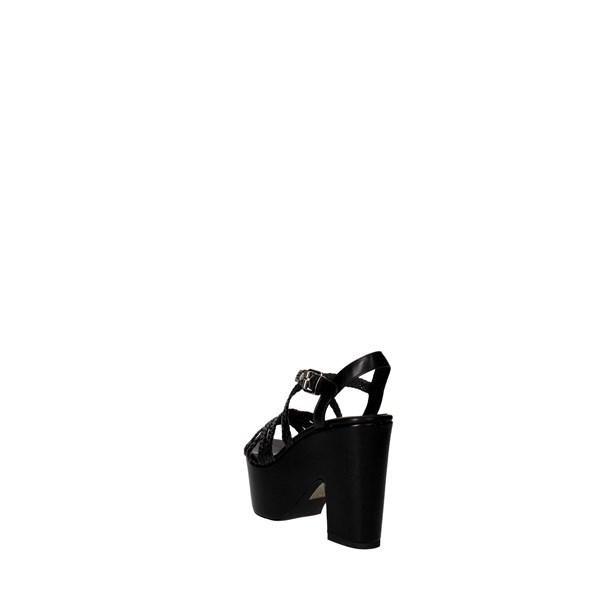 Luciano Barachini Shoes Sandal Black 6026A