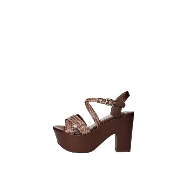 Luciano Barachini Shoes Sandals Brown 6026D