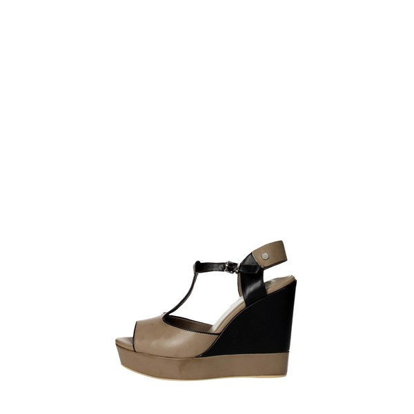 Luciano Barachini Shoes Sandals Grey 6001C
