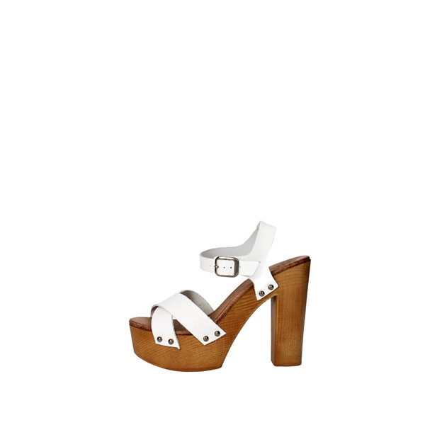 Tdl Collection Scarpe Donna Sandalo BIANCO 3098294
