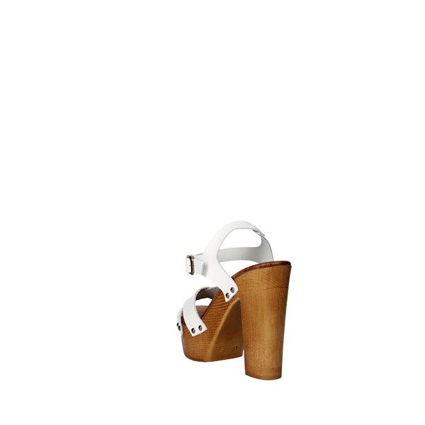 <Tdl Collection Shoes Sandal White 3098294