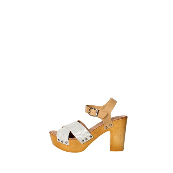Tdl Collection Scarpe Donna Sandalo BIANCO 5375330