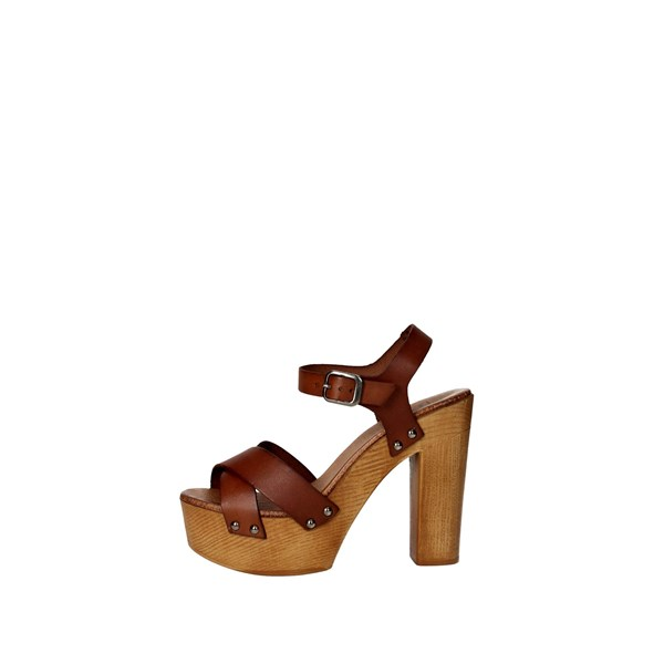 Tdl Collection Scarpe Donna Sandalo CUOIO 3098294