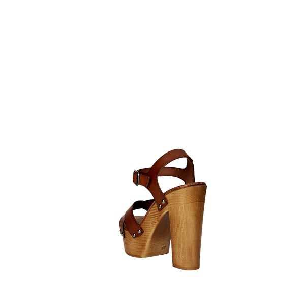<Tdl Collection Shoes Sandal Brown leather 3098294