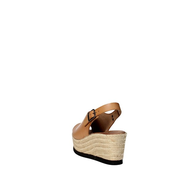 <Tdl Collection Shoes Sandal Brown leather 5372677