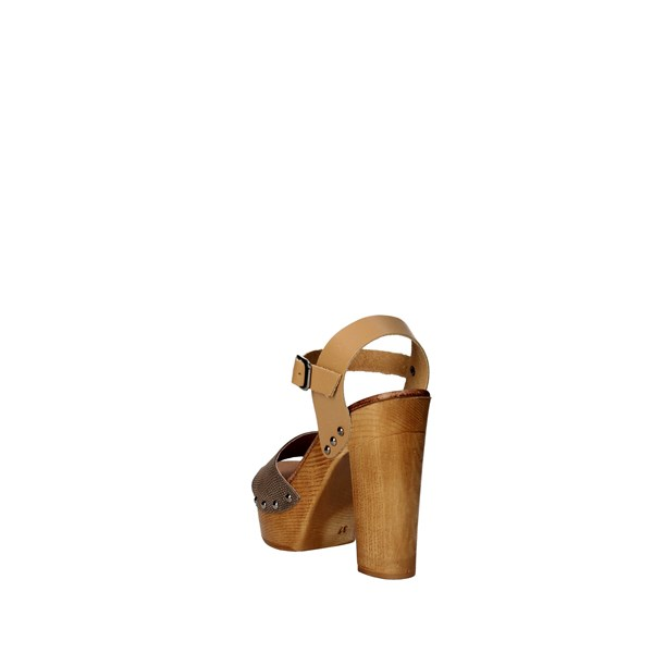 <Tdl Collection Shoes Sandal Brown leather 5374294