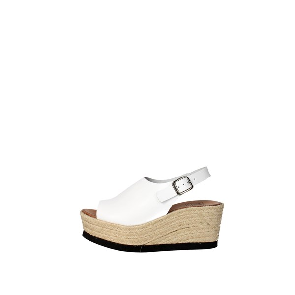 Tdl Collection Scarpe Donna Sandalo BIANCO 5372677-6
