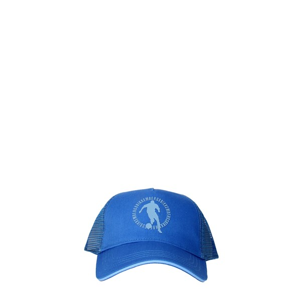 Bikkembergs Accessories Hat Light Blue CAP01419