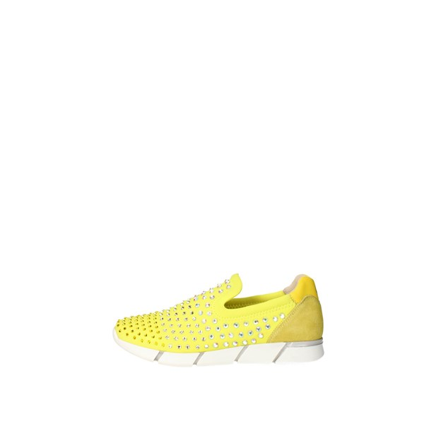 Florens Shoes Sneakers Yellow F1330